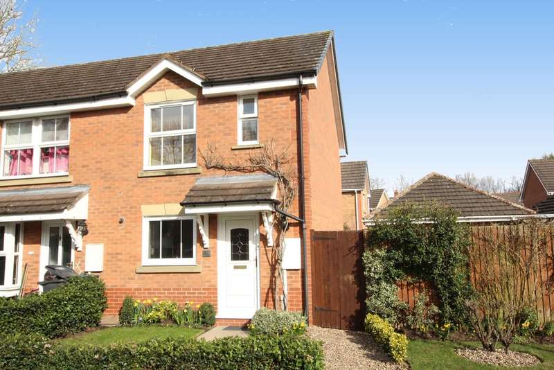2 Bedrooms End Of Terrace House for sale in Miniva Drive, Walmley,Sutton Coldfield. B76 2WT