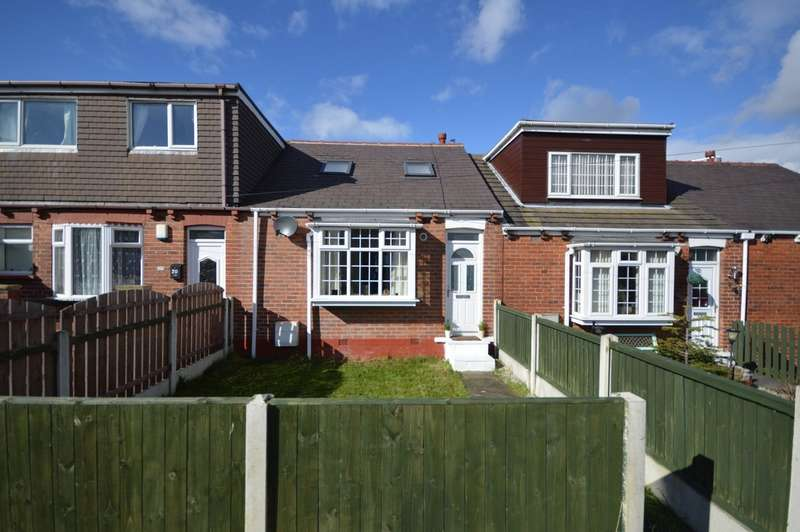 2 Bedrooms Terraced Bungalow for sale in George Street, Ryhill, Wakefield