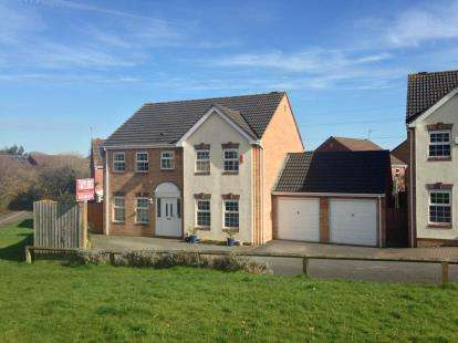 4 Bedrooms Detached House for sale in Pinkers Mead, Emersons Green, Bristol, Gloucestershire