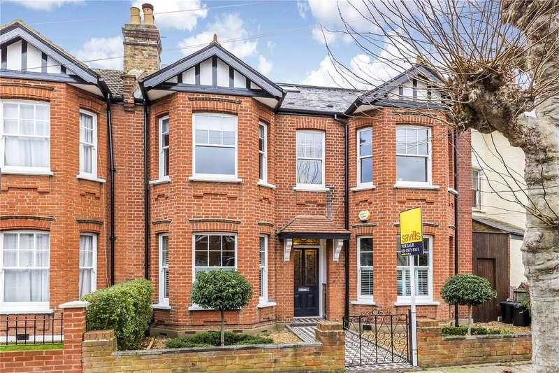 5 Bedrooms Semi Detached House for sale in Cromwell Road, Wimbledon, London, SW19