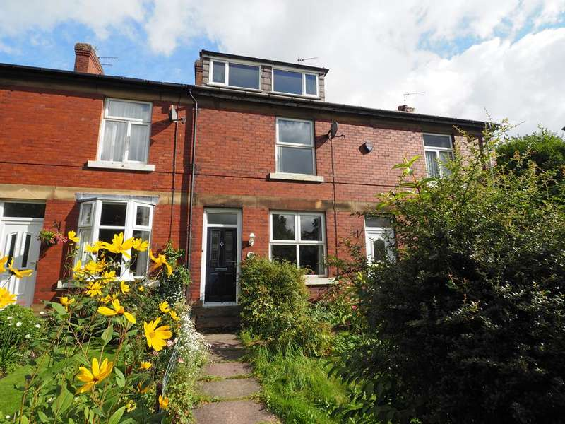 2 Bedrooms Terraced House for sale in Midland Terrace, New Mills, High Peak, Derbyshire, SK22 4NL