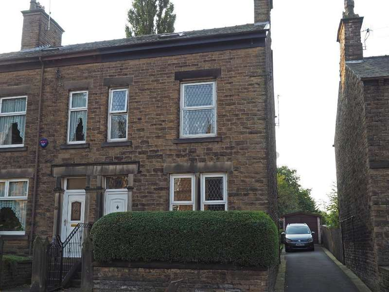 5 Bedrooms End Of Terrace House for sale in Church Road, New Mills, High Peak, Derbyshire, SK22 4PF