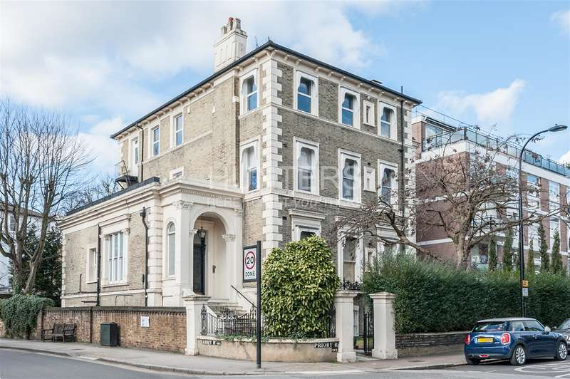 2 Bedrooms Apartment Flat for sale in Priory Road, London, NW6 3NE