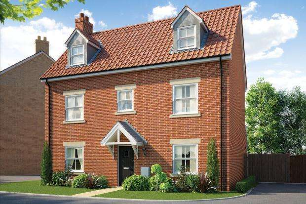 5 Bedrooms Detached House for sale in St Walstan's, Costessey, Norwich, Norfolk