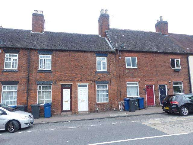2 Bedrooms Terraced House for sale in Upper St John Street,Lichfield,Staffordshire