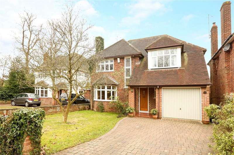 5 Bedrooms Detached House for sale in Peppard Road, Emmer Green, Reading, RG4