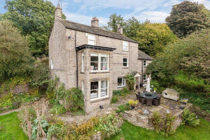 5 Bedrooms Detached House for sale in Lower Cliffe, Strines, High Peak