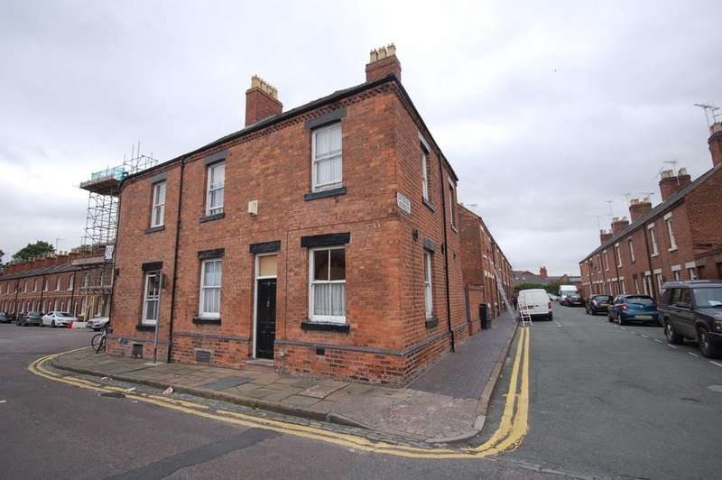 2 Bedrooms End Of Terrace House for sale in Albion Street, Chester