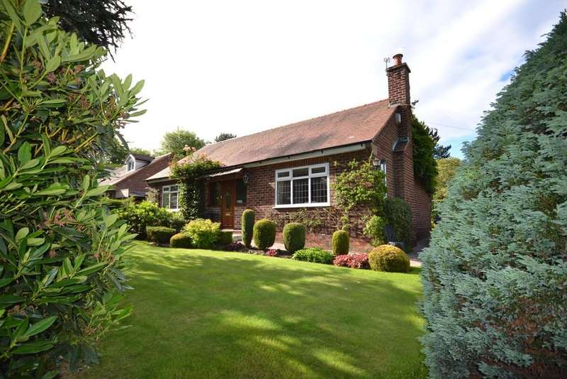 4 Bedrooms Detached Bungalow for sale in Horseshoe Lane, Alderley Edge