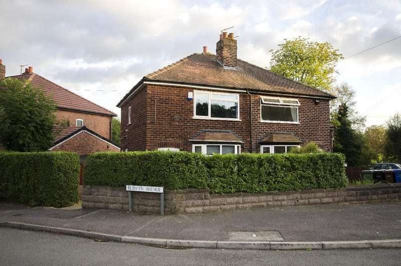2 Bedrooms Semi Detached House for sale in Berwyn Avenue, Cheadle Hulme