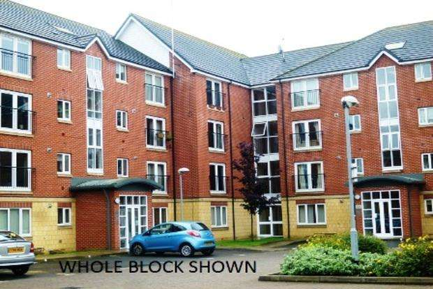 2 Bedrooms Apartment Flat for sale in Cleveland Court, Balfour Close, Northampton, NN2