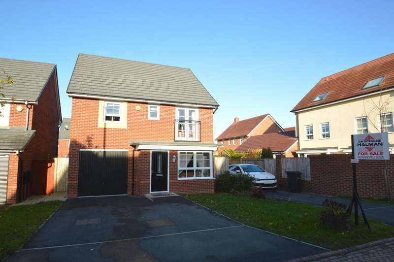 4 Bedrooms Detached House for sale in Sweet Water Court, Lostock Gralam, Northwich