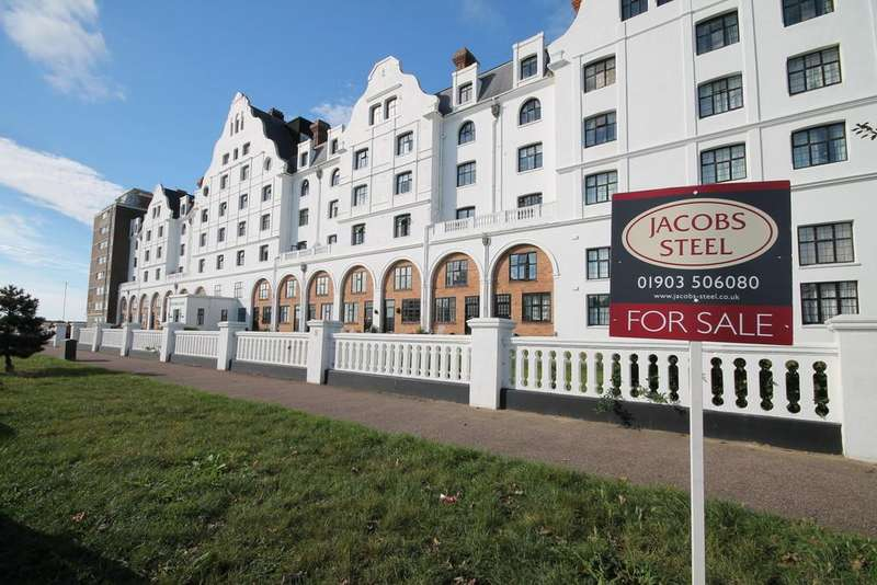 3 Bedrooms Apartment Flat for sale in Dolphin Lodge, Grand Avenue, Worthing