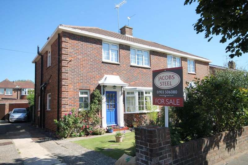 3 Bedrooms Semi Detached House for sale in Southview Gardens, Worthing BN11 5HZ