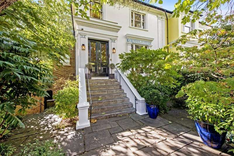 4 Bedrooms Semi Detached House for sale in Loudoun Road, St John's Wood, London, NW8