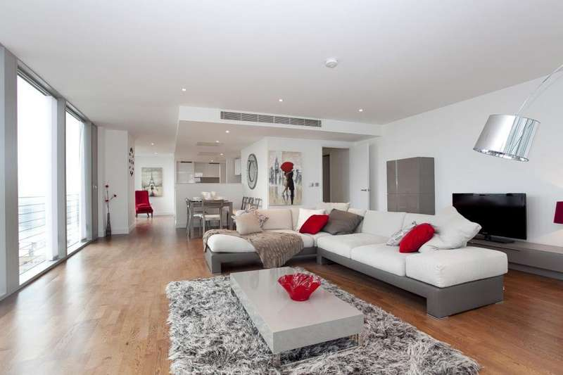 3 Bedrooms Flat for sale in Landmark West, 22 Marsh Wall, London
