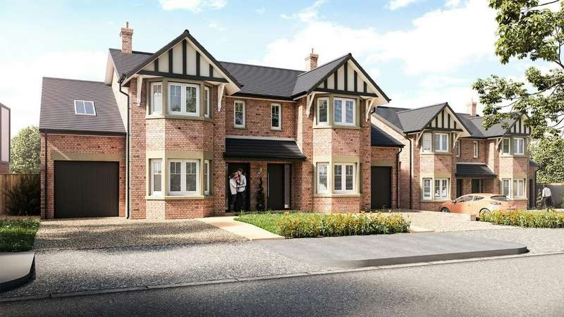 4 Bedrooms Semi Detached House for sale in Telford (Plot 2), Oak View, Wood Lane West, Adlington