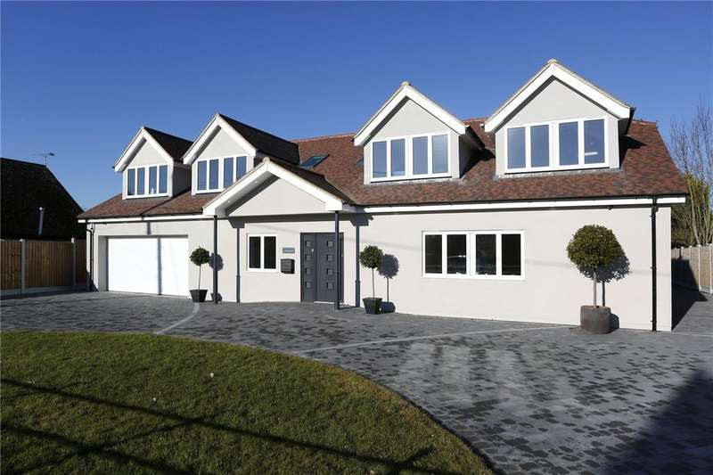 5 Bedrooms Detached House for sale in Glebe Road, Ramsden Bellhouse, Billericay, Essex, CM11