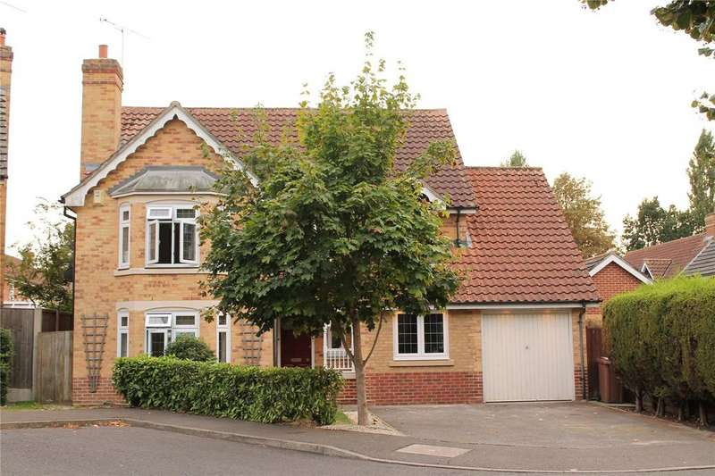 4 Bedrooms Detached House for sale in Roxwell Gardens, Hutton, Brentwood, Essex, CM13