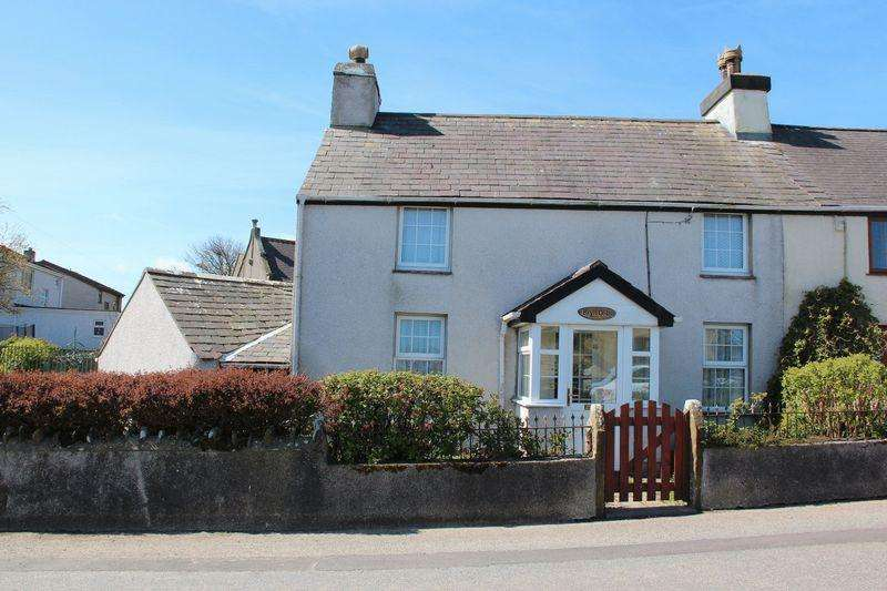 2 Bedrooms Cottage House for sale in Llanfaethlu