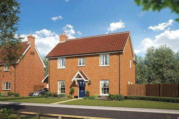 4 Bedrooms Detached House for sale in Plot 40 Grace Park, Lakenham, Norwich, NR1