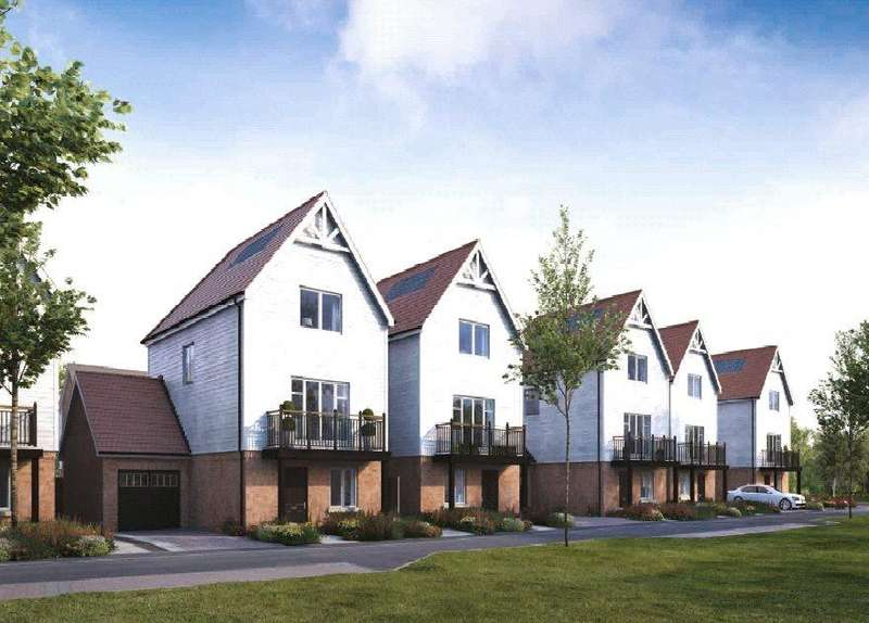 4 Bedrooms Detached House for sale in Coppice Drive, Ryewood, Dunton Green, Sevenoaks, TN14