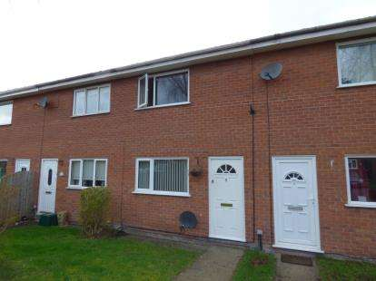 2 Bedrooms Terraced House for sale in Bader Court, Wrexham, Wrecsam, ., LL13