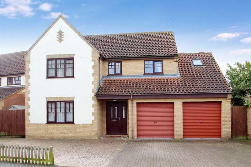5 Bedrooms Detached House for sale in Ditchingham Grove, Rushmere St. Andrew, Ipswich