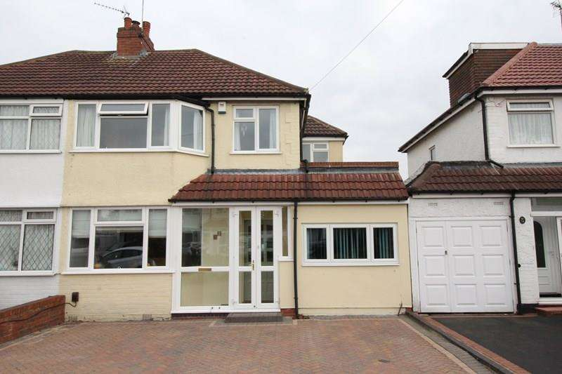 4 Bedrooms Semi Detached House for sale in Yoxall Road, Shirley, Solihull