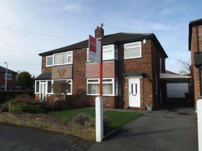 3 Bedrooms Semi Detached House for sale in Capesthorne Road, Hazel Grove, Stockport, Cheshire