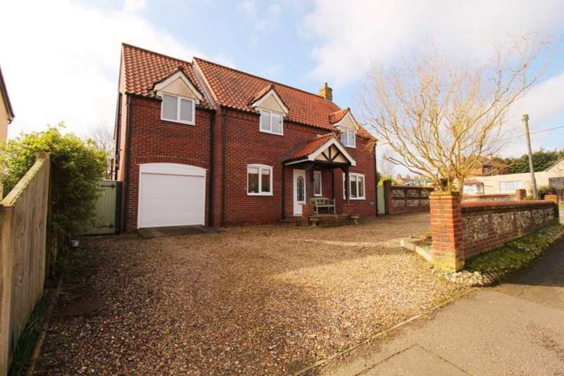 4 Bedrooms Detached House for sale in Houghton Lane, North Pickenham