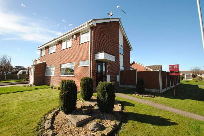 3 Bedrooms Semi Detached House for sale in Bramley Grange Crescent, Bramley, Rotherham