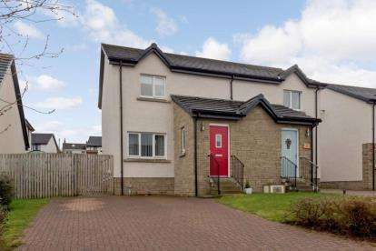 2 Bedrooms Semi Detached House for sale in Bard Drive, Tarbolton