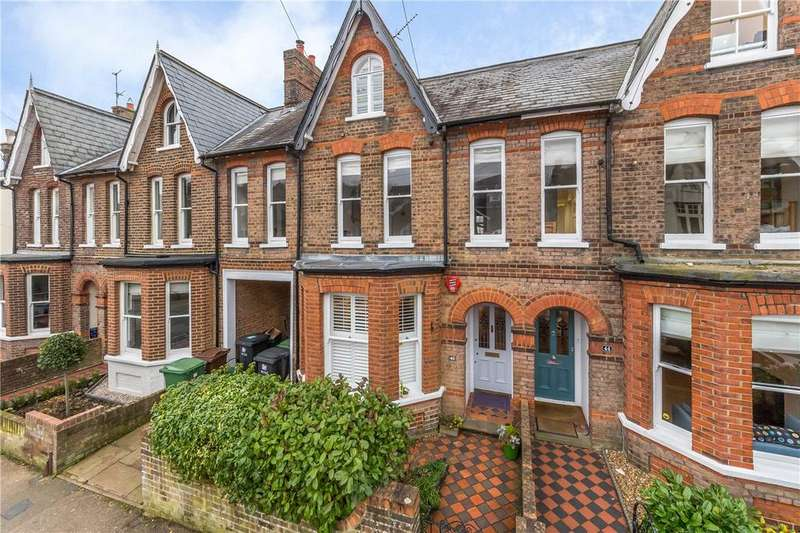 4 Bedrooms Terraced House for sale in Cowper Road, Harpenden, Hertfordshire