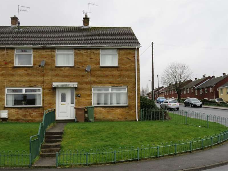 2 Bedrooms End Of Terrace House for sale in Chartist Way, Blackwood