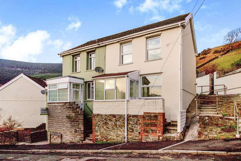 2 Bedrooms Semi Detached House for sale in Mount Pleasant, Blaengarw, Bridgend