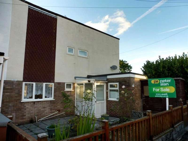 2 Bedrooms End Of Terrace House for sale in Warwick Close, New Inn, Pontypool