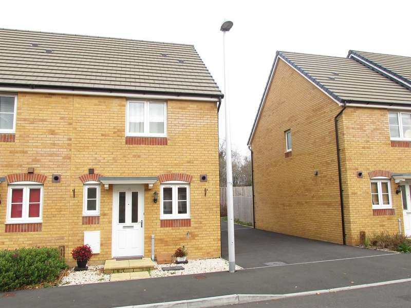 2 Bedrooms Semi Detached House for sale in Parc Penderi, Penllergaer, Swansea