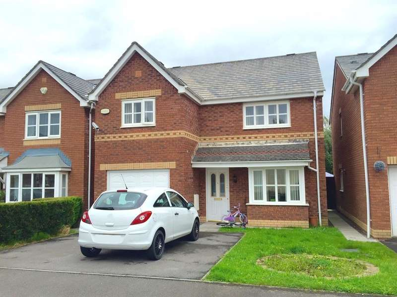 4 Bedrooms Detached House for sale in Ger Y Nant, Birchgrove, Swansea