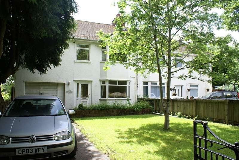 5 Bedrooms Semi Detached House for sale in Newport Road, Old St. Mellons, Cardiff