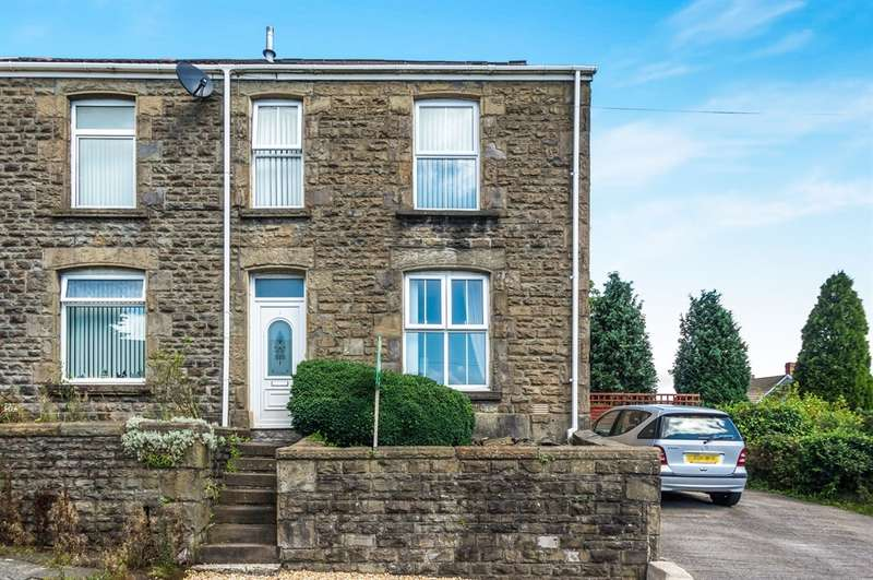 3 Bedrooms Semi Detached House for sale in Waun Gron Road, Treboeth, Swansea