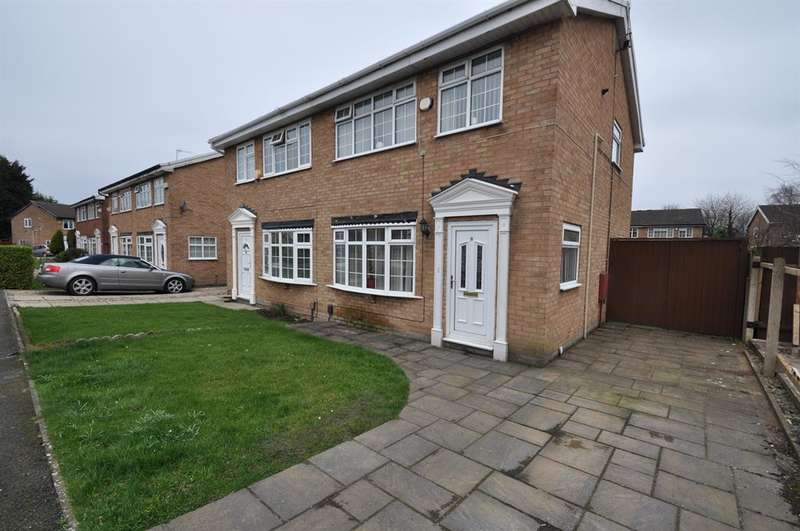 3 Bedrooms Semi Detached House for sale in Denny Close, Wirral, CH49 0XG