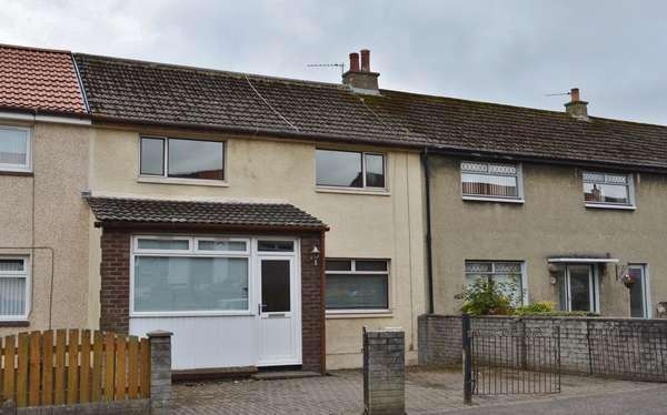 3 Bedrooms Terraced House for sale in 55 Redstone Avenue, Kilwinning, KA13 7JG