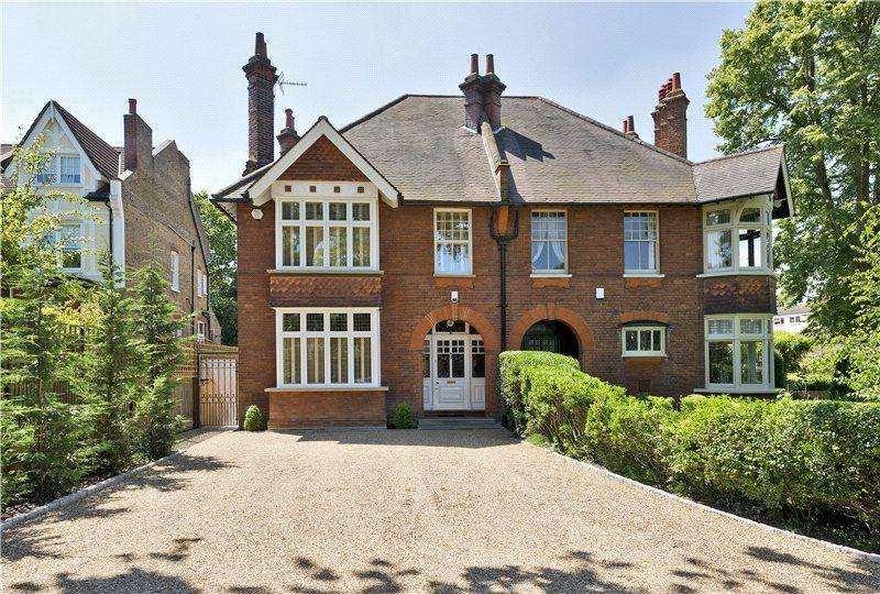 5 Bedrooms Semi Detached House for sale in Church Road, Shortlands, Bromley, Kent, BR2