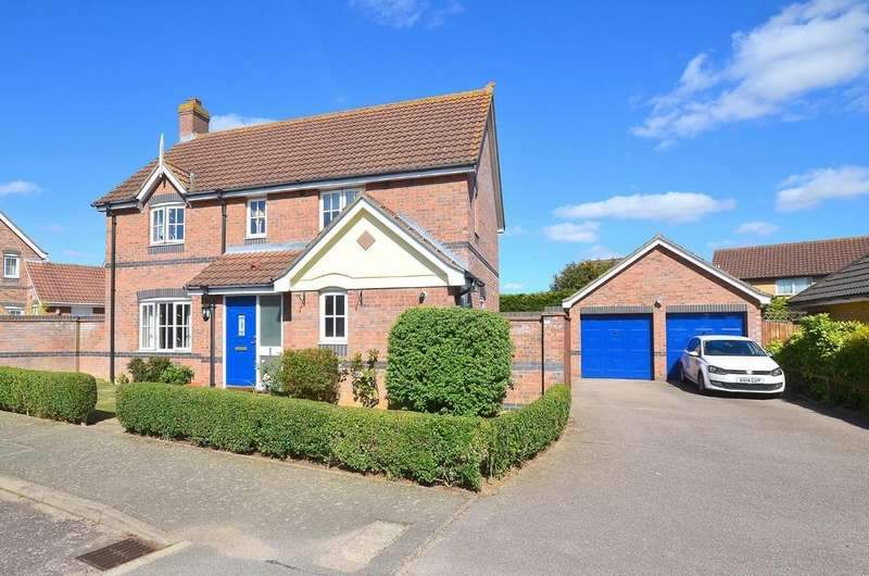 4 Bedrooms Detached House for sale in Crawford Lane, Kesgrave