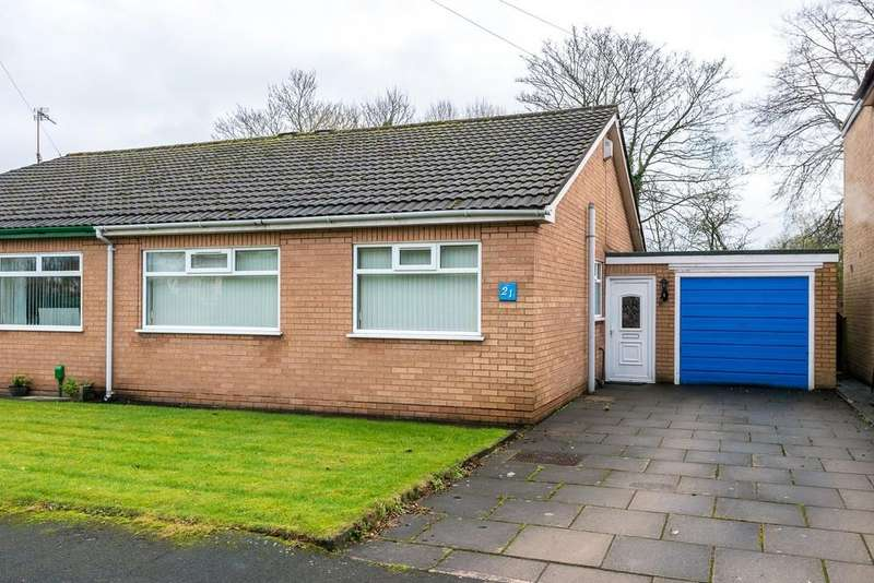 2 Bedrooms Semi Detached Bungalow for sale in Lynn Close, Eccleston, St. Helens