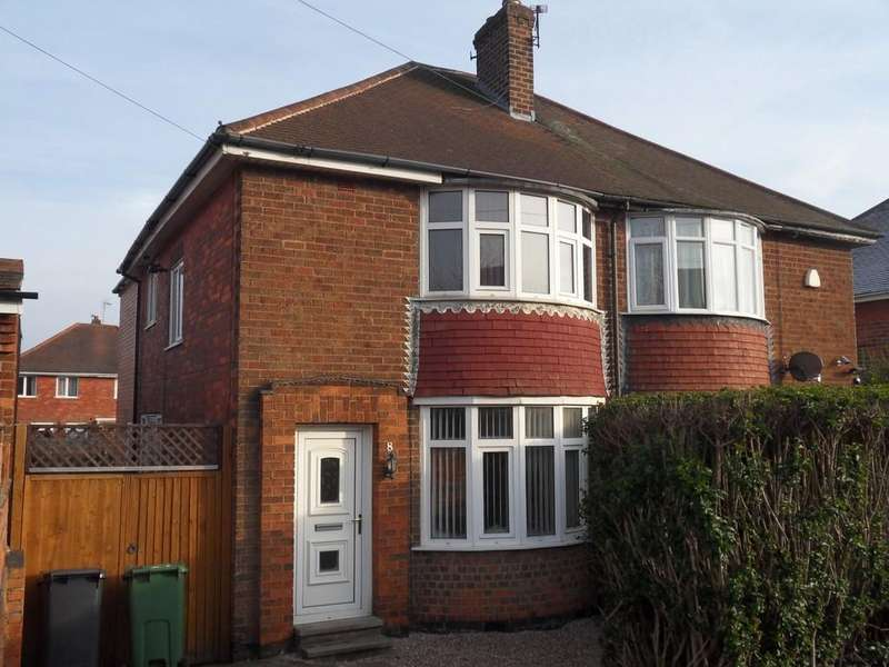 4 Bedrooms Semi Detached House for sale in Tuckers Road, Loughborough