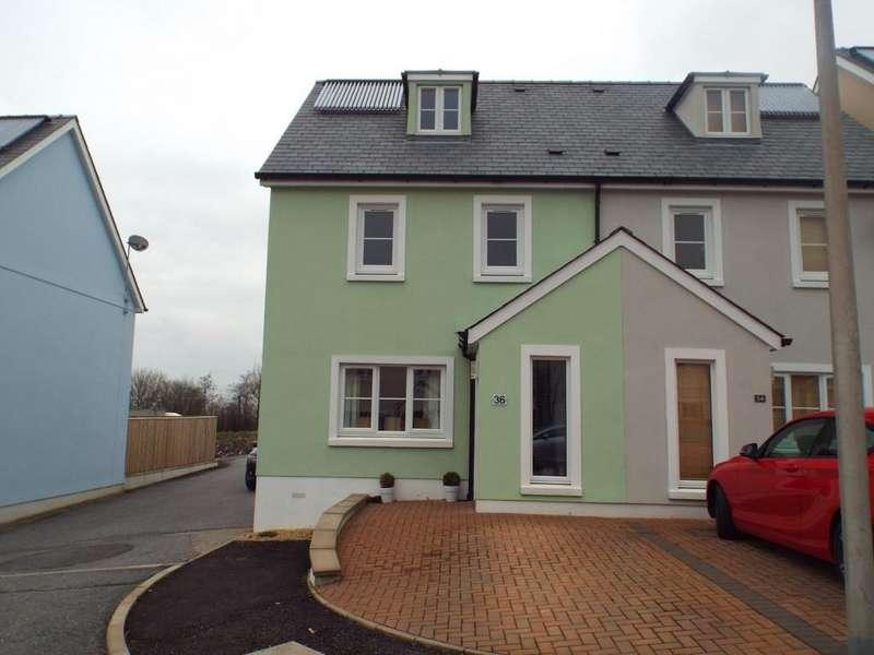 3 Bedrooms Semi Detached House for sale in Parc Y Gelli, Foelgastell, Llanelli