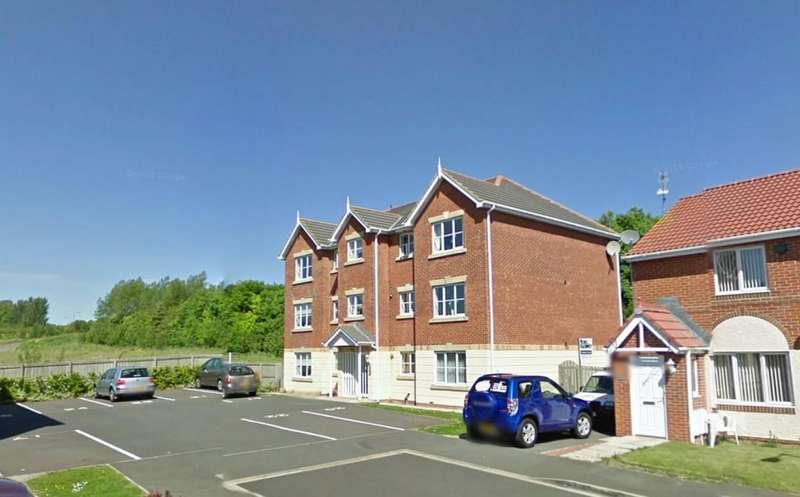 2 Bedrooms Flat for sale in Glamis Court, Woodstone Village