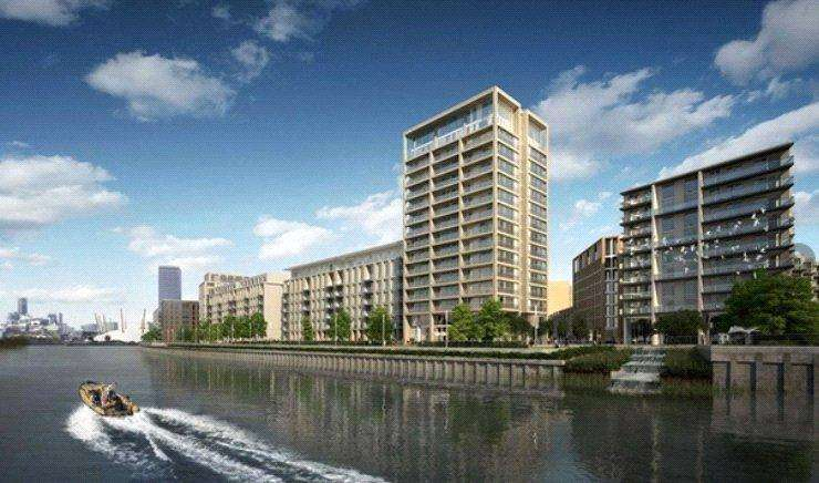 2 Bedrooms Flat for sale in Park View Place, Royal Wharf, London, E16